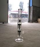 Doppelter Arm-Baum-Filtrierapparat-buntes rauchendes Wasser-Glasrohr