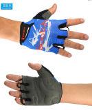 Nuevo medio guante del ciclo del dedo 2014, guantes de ciclo del dedo corto