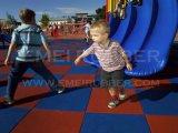 Pavimentazione di gomma di sicurezza esterna del campo da giuoco per i bambini
