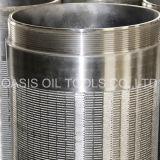 Telas Prepacked cascalho da embalagem de aço inoxidável para a perfuração boa