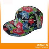 Chapéu floral do lazer de 5 painéis do algodão de 2016 formas