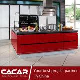 Gabinete de cozinha à moda moderno Forte-Rápido da laca do verniz do Stoving (CA12-02)