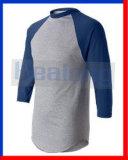 Дешево 3/4 втулок прикрывает трикотажные изделия Unifroms теннисок бейсбола Mens молодости