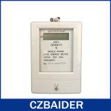 Base plástica do medidor eletrônico monofásico da tensão da energia da potência de watt (DDS8111)
