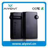 Portable por atacado banco de uma potência de 6000 mAh com auriculares de Bluetooth