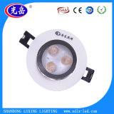 Decke des China-Fabrik-niedrigen Preis-3W LED beleuchten unten