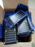 5W 6W 태양 이동 전화 iPad 전기 책 TUV 증명서를 가진 Foldable 충전기 부대 팩