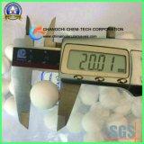 Sfere di ceramica calcinate di grande purezza dell'allumina Al2O3 di 99% per l'imballaggio della torretta