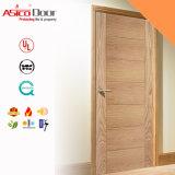 Modèle différent de porte évaluée d'incendie en bois/bois de construction de la qualité 2hrs
