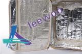 Caixa isolada térmica do saco do almoço do piquenique com marcagem com ferro quente feita sob encomenda