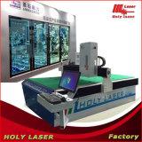 Máquina de vidro da decoração do escritório com tecnologia laser 3D
