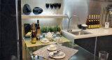 Mobília acrílica moderna da cozinha (zv-020)
