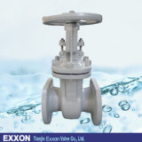 Valvola a saracinesca standard della flangia dell'ANSI del GOST DIN in acciaio al carbonio duttile del ferro del ghisa