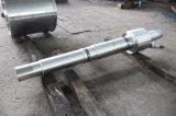 El eje de soporte de la forja utilizó extensamente