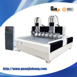 Japão Servo Motor, Taiwan Square Rail, Wood CNC Router Machine