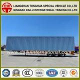 판매를 위한 Tir 차축 공장 제조 수송 밴 유형 반 상자 트레일러