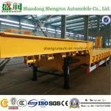 Hete Verkopende Semi Aanhangwagen Shengrun18m 6axle Lowbed