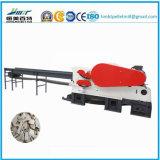 La madera compacta de la construcción registra la máquina de trabajo de madera del cortador
