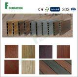 Decking en bois artificiel extérieur de la coextrusion WPC de plancher de WPC