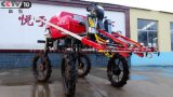 Pulverizador automotor do crescimento do motor Diesel do TGV do tipo 4WD de Aidi para Vegatable \ campo da fruta \ trigo