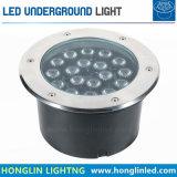 Lámpara subterráneo de la luz 6W LED Inground del poder más elevado LED al aire libre