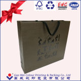 Saco de papel personalizado da jóia da alta qualidade de Foshan o fabricante o mais novo