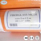 engranzamento resistente do vidro de fibra do alcalóide alaranjado da cor 160gr que reforça a tela para o russo