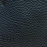 Cuoio sintetico dell'unità di elaborazione Microfiber del PVC di stile europeo per il sofà (HS-QF08)