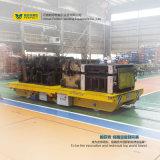 十字湾の倉庫の鉄道運輸の手段のトレーラーの転送のカート