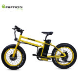 Green Power 48V 500W Fat Tire Small Folding Electric Bike for Wholesale