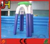 El aire selló el aro de baloncesto inflable del encerado del PVC de 0.6m m para la venta