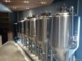 Edificio de la estructura de acero de la cervecería del hangar de la cervecería para la fabricación de la cerveza del depósito de fermentación de la cerveza de la cervecería