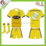 Тайское качество дешево сублимировало форму футбола, подгонянный футбол Джерси сублимации Sportswear первоначально