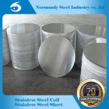 ASTM laminato a freddo il cerchio dell'acciaio inossidabile 304 con buona qualità