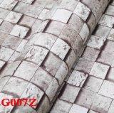 벽 피복, 벽 종이, PVC 벽지, Wallcovering 의 벽 직물, 롤을 마루청을 까는 장을, 벽지 마루청을 깔기
