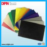 Strato nero della gomma piuma del PVC di colore