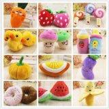 Multi Art-Haustier-Produkt-Haustier-Plüsch-Frucht-Spielzeug