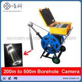 Vicam 300m Kabel-Vertiefung u. Bohrloch-Kamera mit Doppelkamera und elektrischer Handkurbel V10-BCS