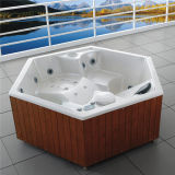 Het Bad Outdoor Hot Tub SPA van de Familie van Monalisa