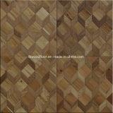 モザイクカシによって設計される木製の寄木細工の床のフロアーリング
