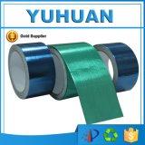 Verde auto-adhesivo/cinta azul de la reparación del encerado que ensambla