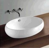 Bacino artistico del dispersore di ceramica della contro parte superiore della ciotola della stanza da bagno