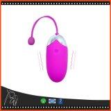 Bluetooth USBの再充電可能な無線電信APPのリモート・コントロールジャンプの卵のバイブレーターのシリコーンの振動の卵