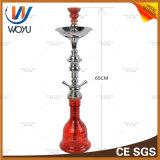 De Rokende Dubbele Waterpijp van uitstekende kwaliteit van de Cyclus van de Waterpijp van het Glas van de Pijp van het Glas