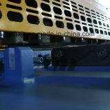 QC11k - a placa de aço de folha do metal da tesoura 6 x 3200 reduz a máquina de estaca hidráulica integrada deformação da guilhotina