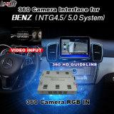 Interfaccia di panorama 360 & di retrovisione per Mercedes-Benz con lo schermo del getto dell'input di segnale del sistema Lvds RGB di comando di Ntg-5.0 Audio20