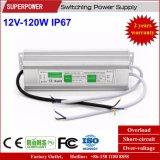 Fuente de alimentación impermeable constante de la conmutación del voltaje 12V 120W LED IP67