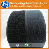 Weiches starkes klebriges Nylon-nicht aufgetragenes Schleifen-Flausch-Band