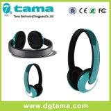 경량 형식 디자인 머리 위 Bluetooth 헤드폰 음성 프롬프트
