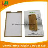 Caixa de papel de design personalizado para acessórios de telefone